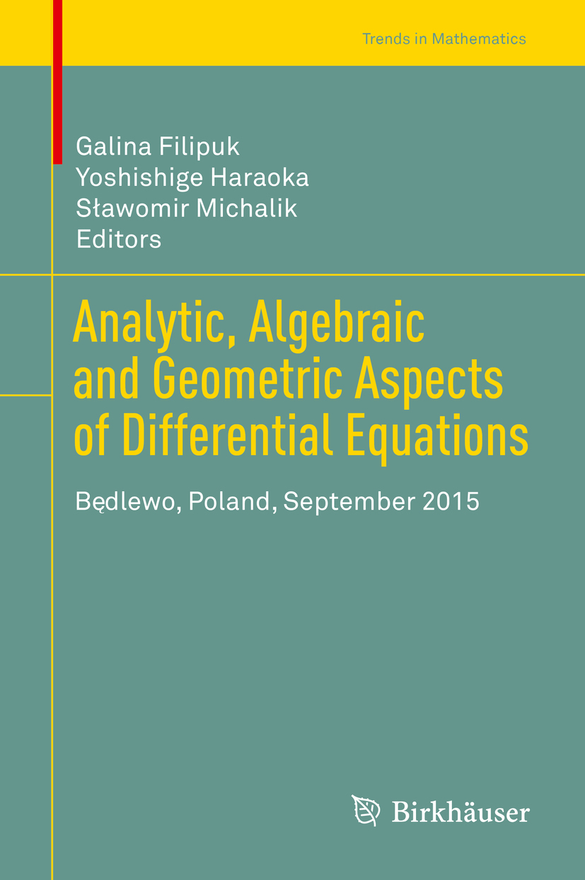 Analytic algebraic and geometric aspects of differential equations analytic algebraic and geometric aspects of differential equations ebook ellibs ebookstore fandeluxe Images