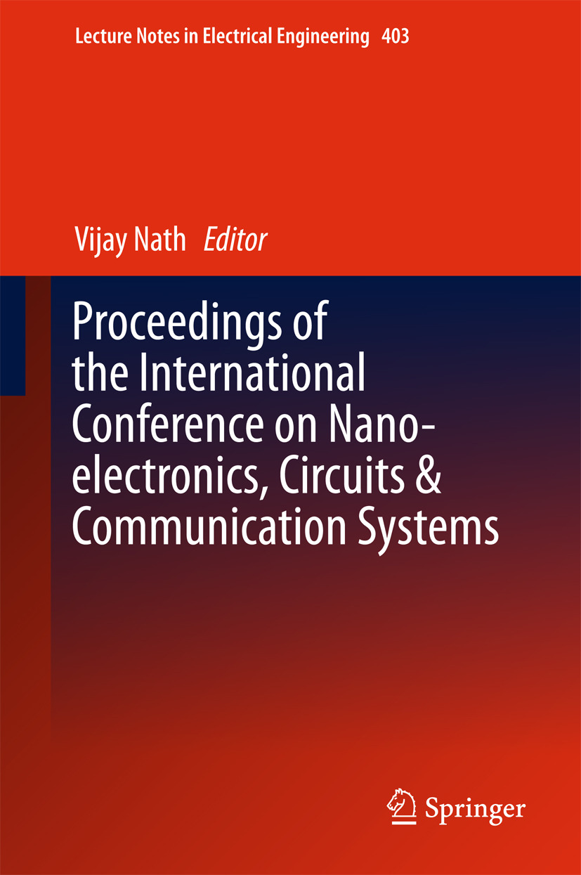 Proceedings Of The International Conference On Nano Electronics Circuits Book Nath Vijay Amp