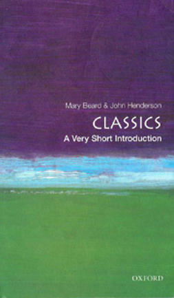 Beard, Mary - Classics: A Very Short Introduction, e-kirja