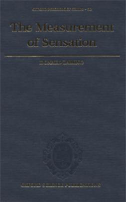Laming, Donald - The Measurement of Sensation, ebook