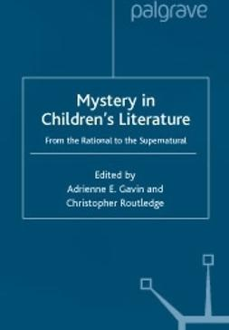 Gavin, Adrienne E.  - Mystery in children's literature, ebook