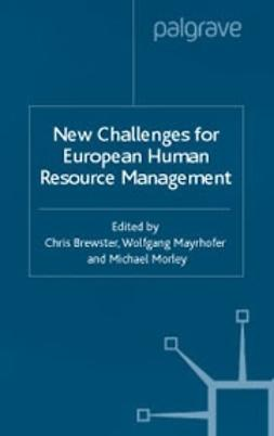 Brewster, Chris - New Challenges for European Human Resource Management, ebook