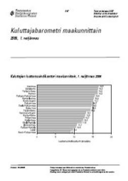 Tilastokeskus, Taloudelliset olot - Kuluttajabarometri maakunnittain 2006, 1. neljännes, e-kirja