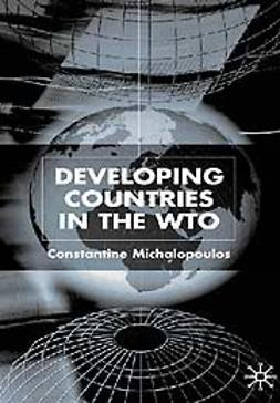 Michalopoulos, Constantine - Developing countries in the WTO, ebook