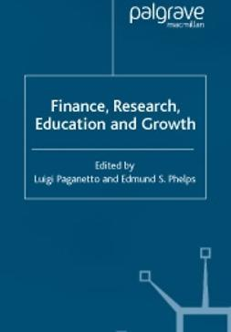 Paganetto, Luigi  - Finance, research, education and growth, ebook