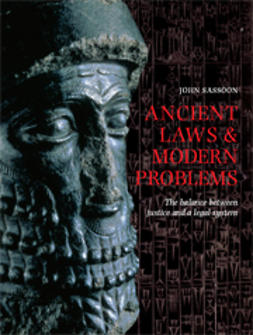 Sassoon, John - Ancient Laws and Modern Problems, e-bok