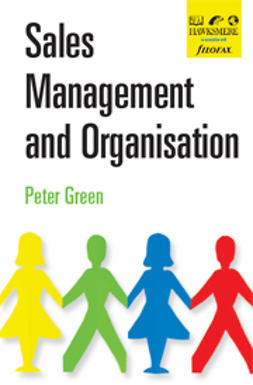 Green, Peter - Sales Management and Organisation, e-kirja