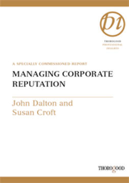 Croft, Susan - Managing Corporate Reputation, ebook