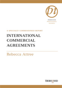 Attree, Rebecca - International Commercial Agreements, ebook