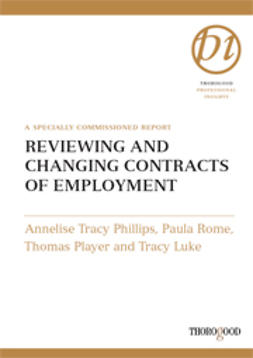 Luke, Tracy - Reviewing and Changing Contracts of Employment, ebook