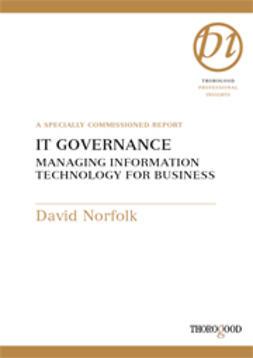 Norfolk, David - IT Governance - Managing Information Technology for Business, ebook