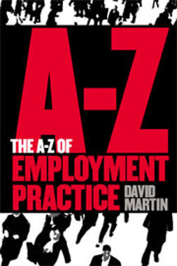 Martin, David - The A-Z Of Employment Practice, ebook