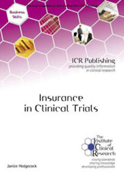 Hedgecock, Janice - Insurance in Clinical Trials, ebook