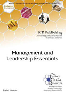 Harrison, Rachel - Management and Leadership Essentials, e-kirja