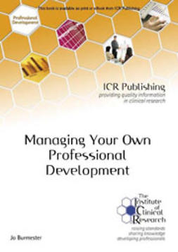 Burmester, Jo - Managing your own professional development, e-bok