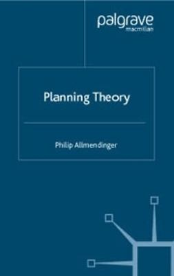 Allmendinger, Philip - Planning Theory, ebook