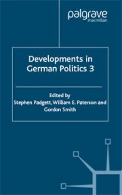Padgett, Stephen - Developments in German Politics 3, ebook