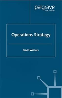 Walters, David - Operations Strategy, ebook