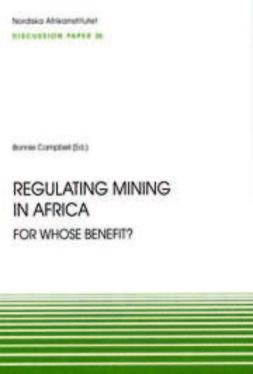 Johansson, Sonja - Regulating Mining in Africa, ebook