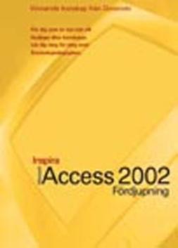 Access 2002 - INSPIRA FÖRDJUPNING