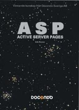 Ronne, Erik - ASP- Active server pages - Avancerad Pocket, ebook
