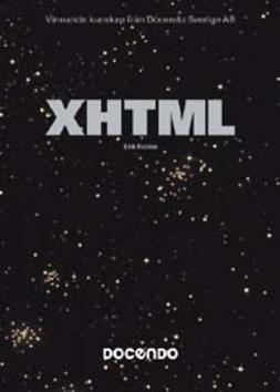 Ronne, Erik - XHTML - Avancerad Pocket, ebook