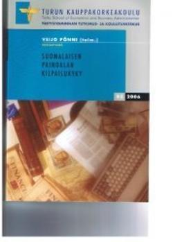 Pönni, Veijo  - Suomalaisen painoalan kilpailukyky, e-kirja