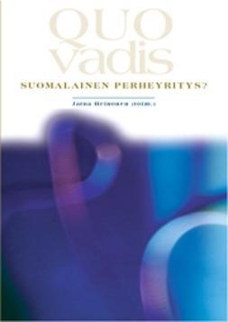 Quo Vadis, suomalainen perheyritys