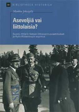 Jokisipilä, Markku - Aseveljiä vai liittolaisia?, e-bok