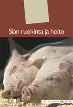Helin, Jukka  - Sian ruokinta ja hoito, e-kirja