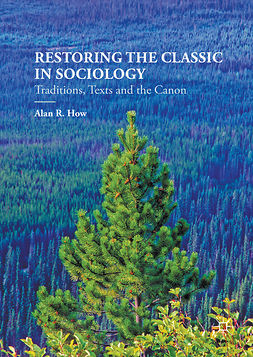 How, Alan R. - Restoring the Classic in Sociology, ebook