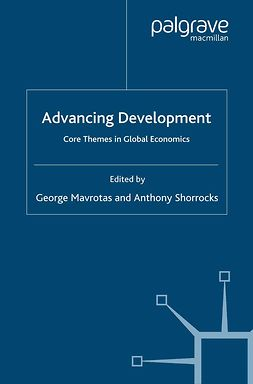 Mavrotas, George - Advancing Development, ebook