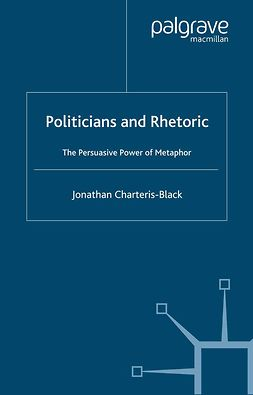 Charteris-Black, Jonathan - Politicians and Rhetoric, ebook
