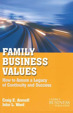 Aronoff, Craig E. - Family Business Values, e-bok