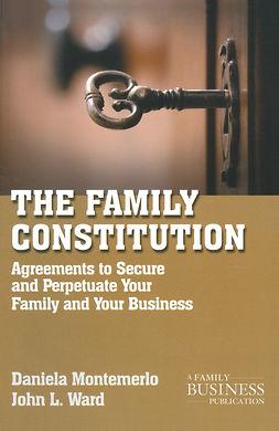 Montemerlo, Daniela - The Family Constitution, e-bok