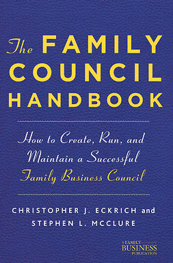 Eckrich, Christopher J. - The Family Council Handbook, ebook