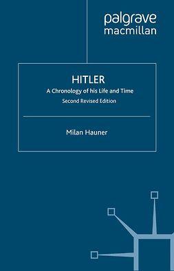 Hauner, Milan - Hitler, ebook