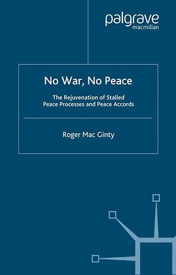 Ginty, Roger Mac - No War, No Peace, ebook