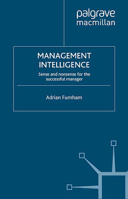 Furnham, Adrian - Management Intelligence, ebook