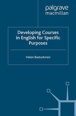 Basturkmen, Helen - Developing Courses in English for Specific Purposes, ebook