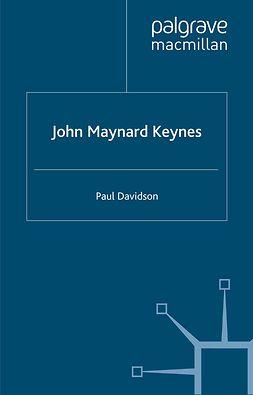 Davidson, Paul - John Maynard Keynes, ebook
