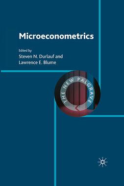 Blume, Lawrence E. - Microeconometrics, ebook
