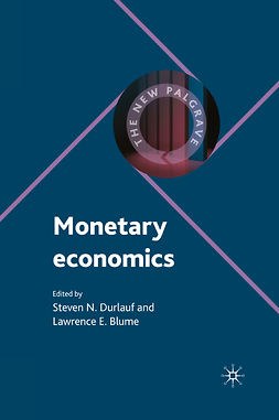 Blume, Lawrence E. - Monetary Economics, ebook