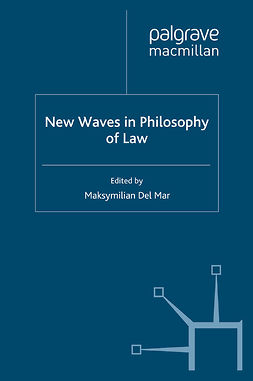Mar, Maksymilian Del - New Waves in Philosophy of Law, e-bok
