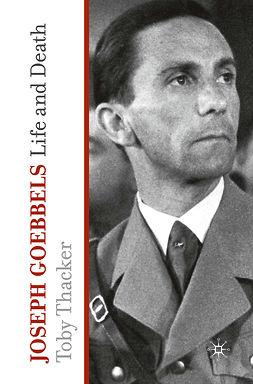Thacker, Toby - Joseph Goebbels, e-bok
