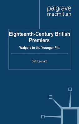 Leonard, Dick - Eighteenth-Century British Premiers, ebook