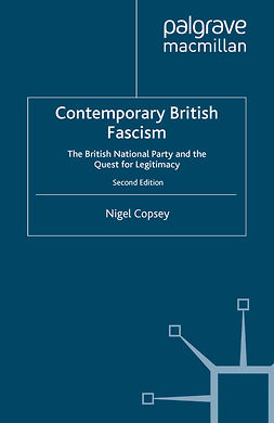 Copsey, Nigel - Contemporary British Fascism, ebook