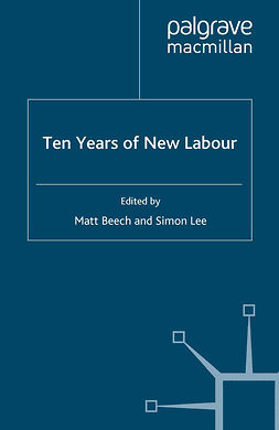 Beech, Matt - Ten Years of New Labour, ebook