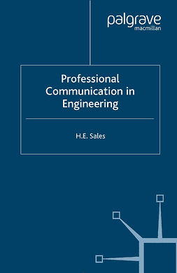 Sales, H. E. - Professional Communication in Engineering, e-bok