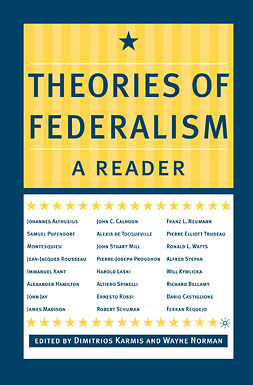 Karmis, Dimitrios - Theories of Federalism: A Reader, ebook